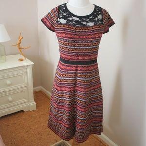 ANTHROPOLOGIE Sparrow FairIsle Sweater Dress